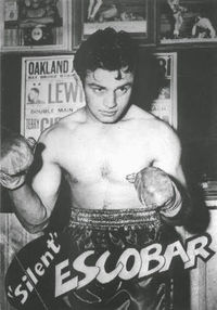 Silent Escobar boxer