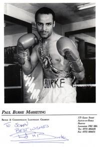 Paul Burke boxer
