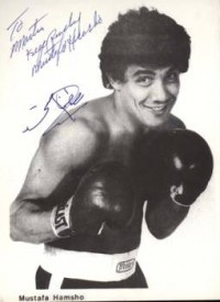 Mustafa Hamsho boxer
