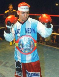 Sergio Manuel Medina boxer