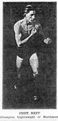 Chet Neff boxer