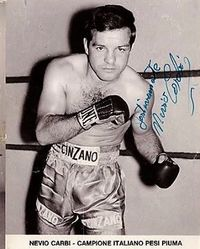 Nevio Carbi boxer