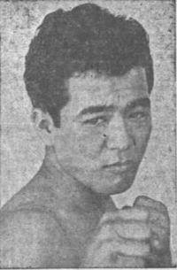 Joho Shiroma boxer