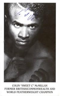 Colin McMillan boxer