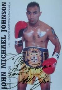 John Michael Johnson boxer