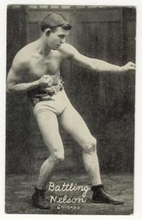 Battling Nelson boxer