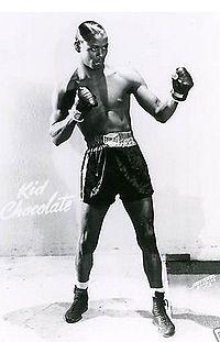 Kid Chocolate boxer