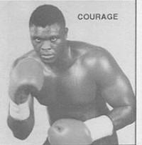Courage Tshabalala boxer