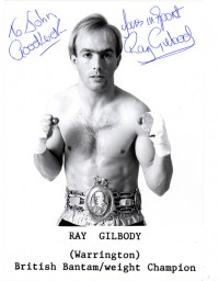 Ray Gilbody boxer
