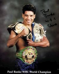 Paul Banke boxer