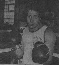 Johnny Trombino boxer