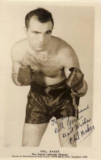 Phil Baker boxer