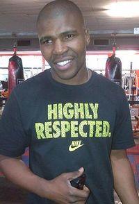 Welcome Ntshingila boxer