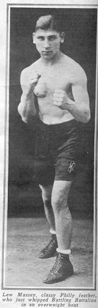 Lew Massey boxer