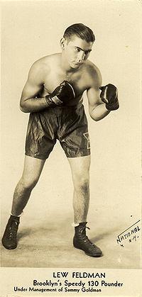 Lew Feldman boxer