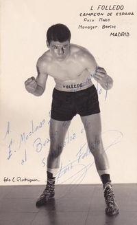 Luis Folledo boxer