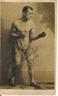 Johnny Cuthbert boxer