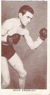 Dave Crowley boxer