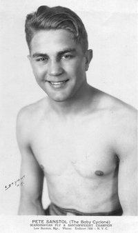 Pete Sanstol boxer